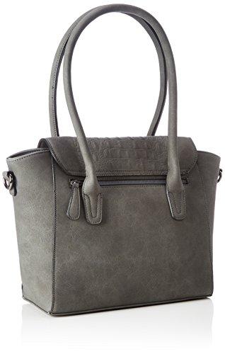Betty Barclay - Flap Bag, cartella Donna Grigio (Cool Grey)