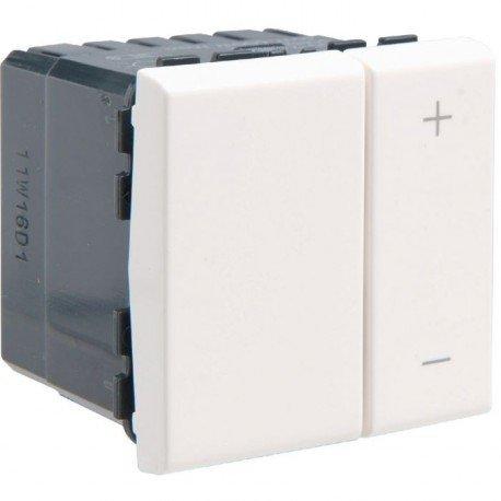 Legrand 078405 Variateur de lumière 2 modules blanc 600 W Mosaic