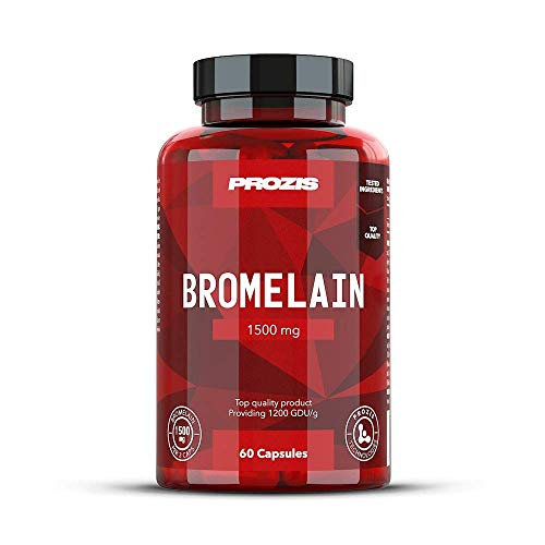 Tropische Früchte-extrakt (Prozis Bromelain 1500mg 60 Kapseln - Perfekt bei proteinreicher Diät - Unterstützt die Verdauung und Aufnahme - 60 Portionen)