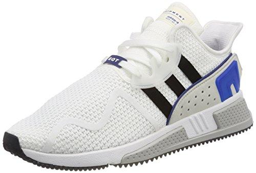 adidas Herren EQT Cushion ADV Fitnessschuhe, Weiß (Ftwbla/Negbas/Reauni 000), 39 1/3 EU Royal Polyester Satin