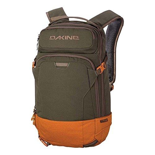 'DAKINE Heli Pro 20L Polyester olive, orange Rucksack–Rucksäcke (Polyester, Olive, Orange, monoton, 600D, Unisex, 38,1...
