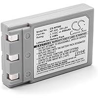 vhbw Li-Ion batteria 850mAh (3.7V) per fotocamera digitale DSLR come Minolta NP-500, NP-600