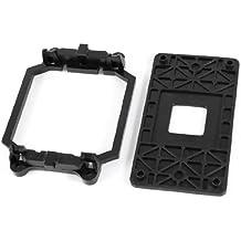Base de Soporte de Pie de Ventilador AMD CPU de Plástico Negro para Enchufe AM2 AM3