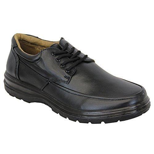 Herren Lederoptik Schuhe Von Charles Southwell Schwarz - MATTHEW