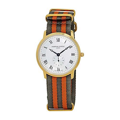 Frederique Constant Men's Slimline 37mm Quartz Analog Watch FC-235M4S5GRYORSET