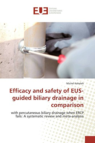 Efficacy and safety of EUS-guided biliary drainage in comparison