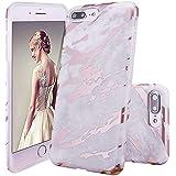 GopeE IPhone 7 Plus Case,iPhone 8 Plus Case, Marble Design Clear Bumper TPU Soft Case Rubber Silicone Skin Cover For IPhone 7 Plus (2016)/iPhone 8 Plus (2017) - B07H1HS58V