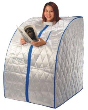 INFRAROTSAUNA / Mobile Sauna für Zuhause / Infrarot Wärmekabine