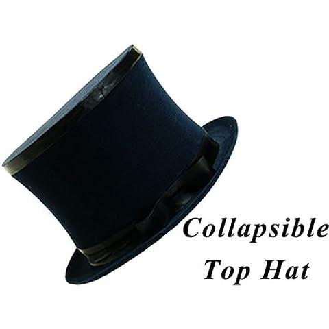 Magic Trick   Top Hat Collapsible Premium Magic (Black)   Kids Show