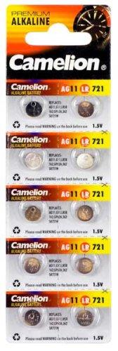 AG11/ LR58 / 361 / SR721  Alkaline Batterien 10er Packung / AG 11