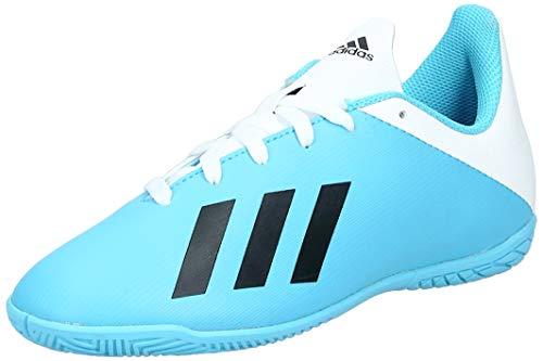 adidas Unisex-Child F35352_35 Indoor Football Trainers, Blue, EU