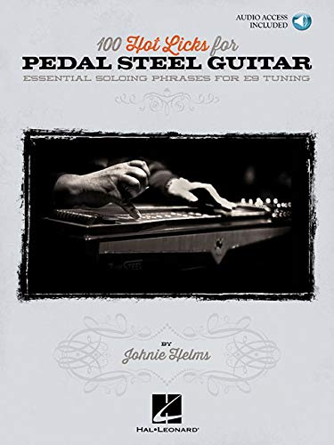 100 Hot Licks For Pedal Steel Guitar: Noten, CD für Hawaiigitarre / Lap-Steel-Gitarre