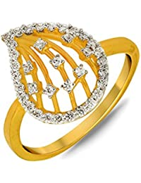 P.N.Gadgil Jewellers Lavanya Collection 22k (916) Yellow Gold Ring - B01M7P1QHH