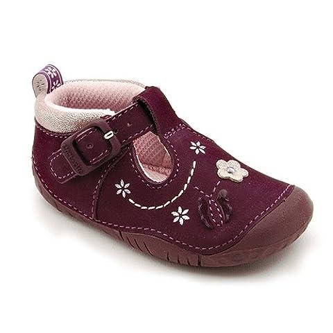 Start-rite Filles Mayflower Violet Nubuck Pre-walkers - violet - Purple Nubuck,