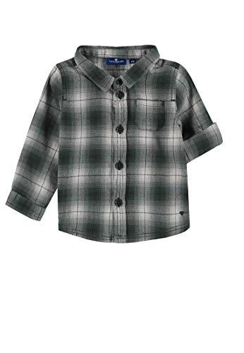 TOM TAILOR Kids Baby-Jungen Hemd Shirt Checked, Blau (Dark Navy|Blue 3190), 68