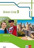 Green Line 3. Ausgabe Bayern: Workbook mit Audio-CD 7. Klasse (Green Line. Ausgabe für Bayern ab 2017)