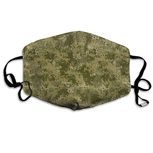 Staubschutzmaske Grau Armee Digital Camo Mundmaske Gesicht Kleidung Anti Verschmutzung Outdoor Maske Aktivitäten Warme Winddicht Gesichtsmasken New6 (Armee-digital-hut)