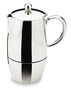 Bellux Stovetop Stainless Steel Espresso Coffee Maker 6 Cup