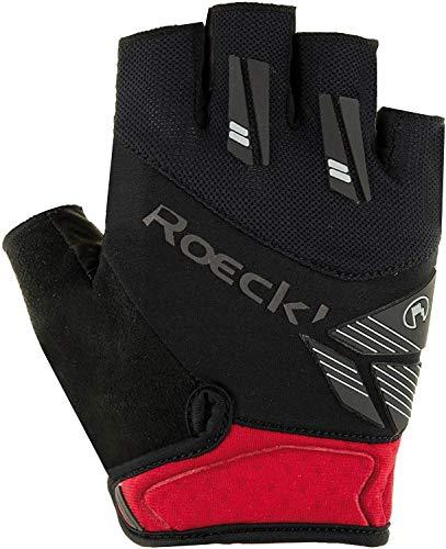 Roeckl Herren Index Handschuhe, schwarz/Rot, 8