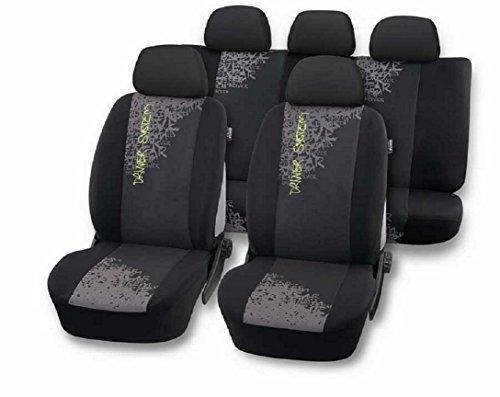 Preisvergleich Produktbild ECO012352 DRIVER Auto Autositzbezüge Sitzbezüge Schonbezüge Sitzbezug