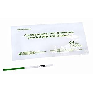50 Ovulationstests mit optimaler Empfindlichkeit