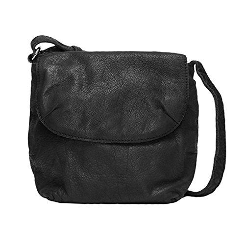 VOi Damen Schultertasche 50300 Umhängetasche aus der Sempre Kollektion in Schwarz