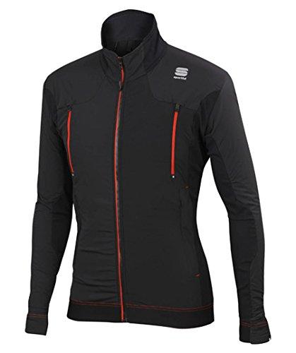 Sportful Herren Langlaufjacke Dynamo Jacket schwarz (200) M