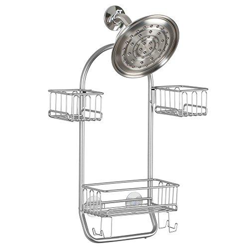 InterDesign Classico-Porta basculante per doccia/Shampoo, balsamo, sapone,