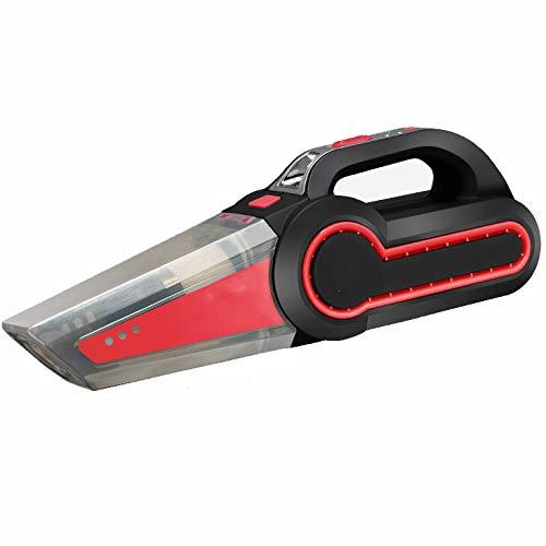 A-Vacuum-cleaner-Aspirador-De-Auto-con-Luz-LED-Porttil-Hmedo-Y-Seco-De-120-Vatios-con-Medidor-De-Presin-De-Neumticos-Inflador-De-NeumticosRed