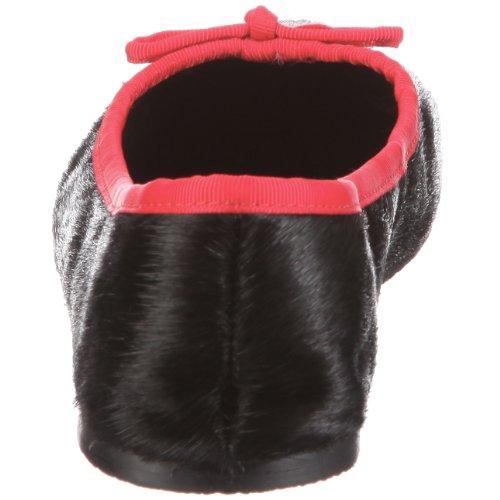 Fortuna 444001-02 Ballerina AGO G Pony, Pantofole donna Rosso