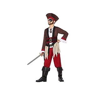 Atosa-56965 Disfraz Pirata, Color marrón, 7 a 9 años (56965)