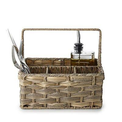 Rustic Woven Cutlery Caddy