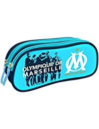 Quo Vadis Olympique Marseille Fourre-Tout Trousse 2 Compartiments 23 x 10 cm