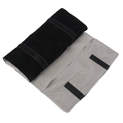 FENICAL Schmuck Roll samt Schmuck Roll Bag Storage Bag Ohrringe Halskette Roll Reiseveranstalter