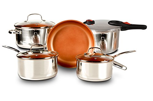 Enjoy this Special Deal Buy The NuWave 7-Piece Duralon Healthy Ceramic Non-Stick Cookware Set Today And Get The NuWave Pressure Cooker Absolutely Free
