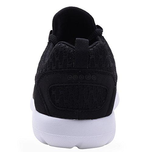 COODO , Jungen Sneaker Schwarz / Weiß