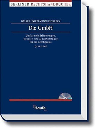 Die GmbH (Haufe Recht-Handbuch)