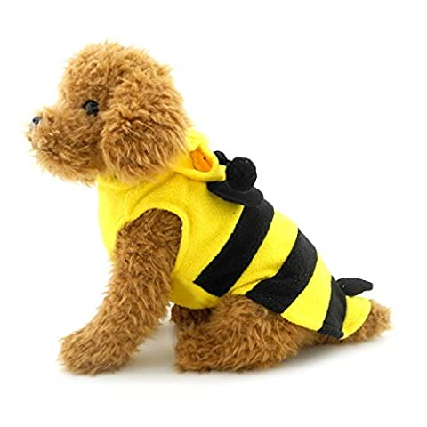 Costumes Dog Bee - Ranphy Petit Chien/Chat Bumble Bee Costume