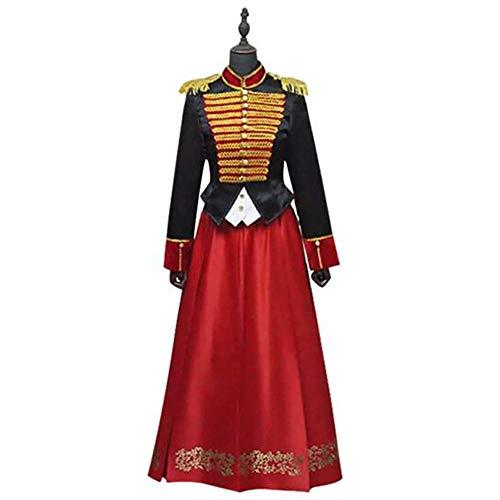 Cosplay Kostüm Fernando Guapo der Nussknacker und die Vier Realms Clara Uniform Kleid Halloween Weihnachten Party Requisiten Outfit, M