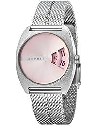 Esprit Reloj Analógico para Mujer de Cuarzo con Correa en Acero Inoxidable ES1L036M0085