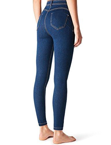 Calzedonia Femme Jeans Push Up Super Skinny Bleu - 3210