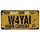Cartel de chapa Placa metal tin sign retro nostálgico metalicas North Carolina matrícula del coche CAROLINA DEL NORTE
