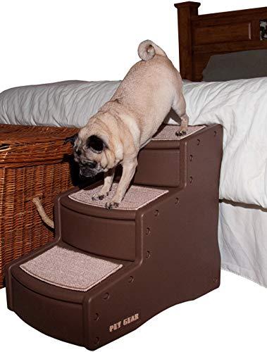 Pet Gear - Escalera para Mascotas Easy Step III, Tres escalones para Gatos y Perros.
