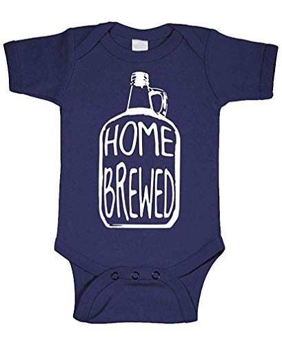 Home Brewed - Wine Beer Brew Craft - Cotton Infant Bodysuit XL - Die Schule Maskottchen-designs