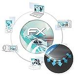 atFolix Schutzfolie für Hisense Infintiy H12 Folie - 3 x FX-Curved-Clear Flexible Displayschutzfolie für gewölbte Displays