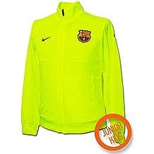 Nike - Barcelona Chandal ENTRENO Junior Am 09 10 Color  Amarillo Talla  XL 93e46b4b9f315