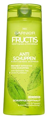 Zinkpyrithion Gegen Schuppen (Garnier Fructis Anti-Schuppen Classic Shampoo, befreit effektiv von Schuppen, mit Anti-Rückfallwirkung, 6er-Pack (6 x 250 ml))