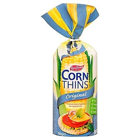 Real Foods Corn Thins - Original (150g)