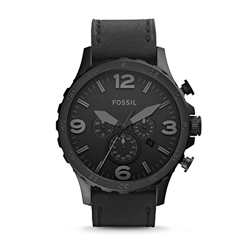 Fossil Nate Analog Black Dial Unisex's Watch-