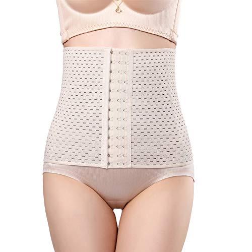 LLHG Frauen Postnatale Shapewear Gürtel Sport Taille Training Korsett Körper Für Gewichtsverlust Fatburner Gürtel,Flesh,XL - Xl Bindemittel Für Frauen Bauch